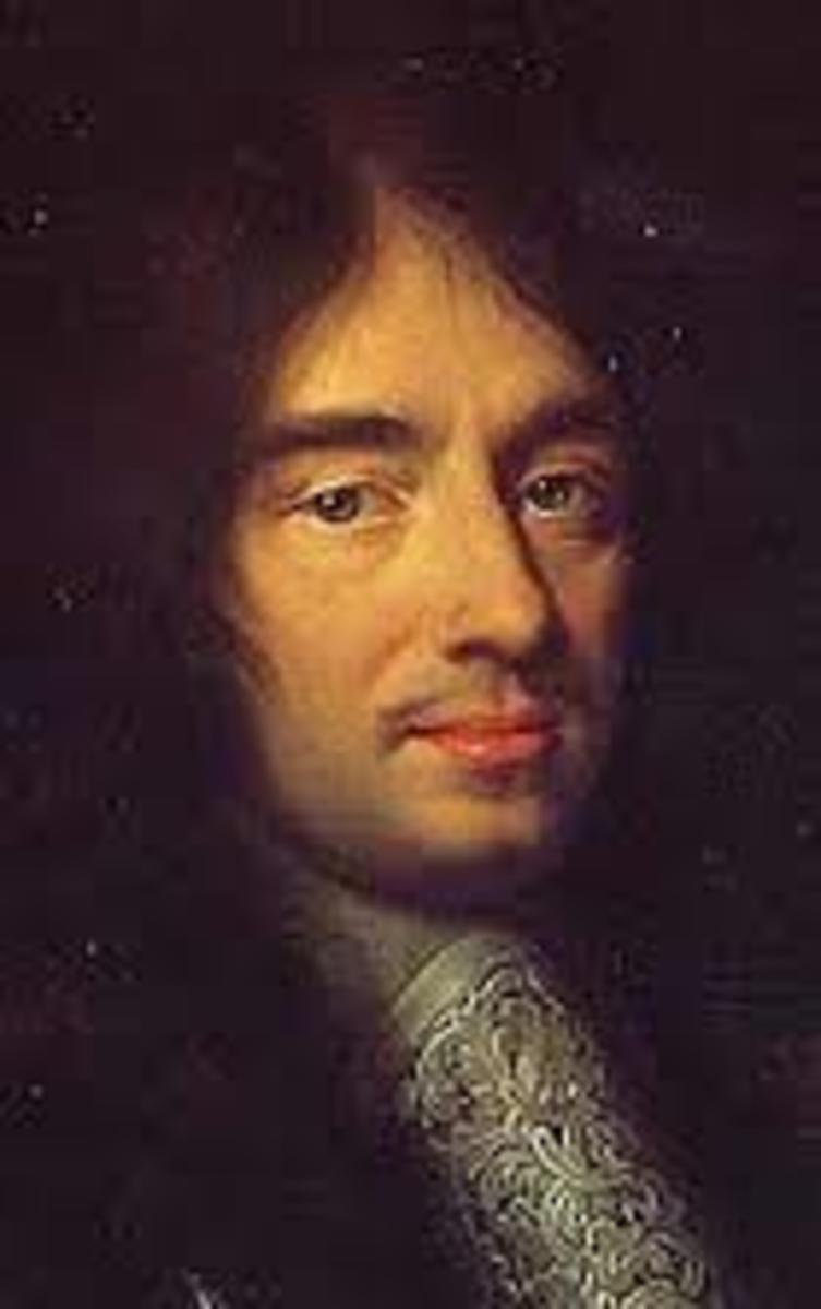 Portrait of Charles Perrault.  Painting by Phillippe Lallemand 1672.