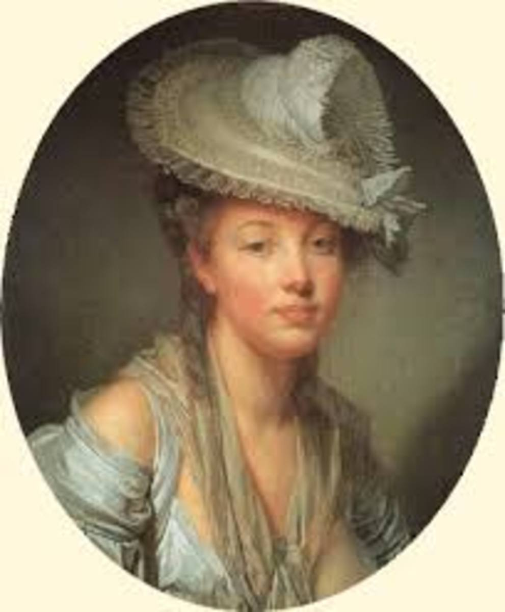 Mare-Catherine Le Jeumel de Barneville, the Baroness d'Aulnoy.  Another writer of French fairy tales.