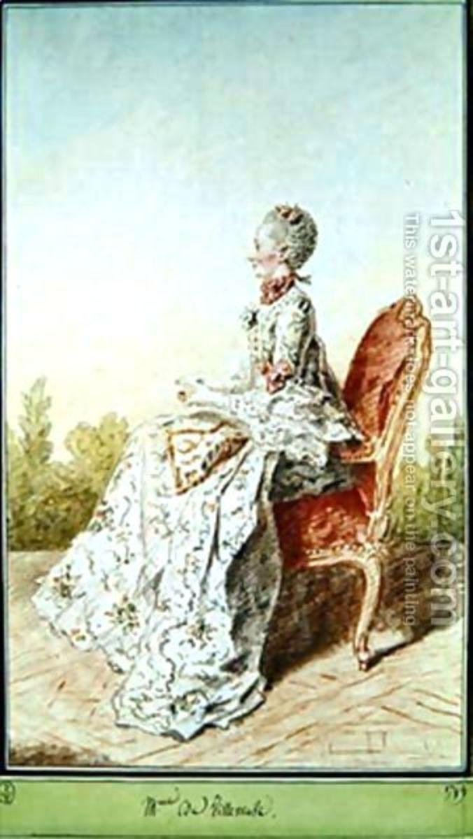 """Gabrielle-Suzanne Barbot de Villeneuve author of the original """"Beauty and the Beast."""""""