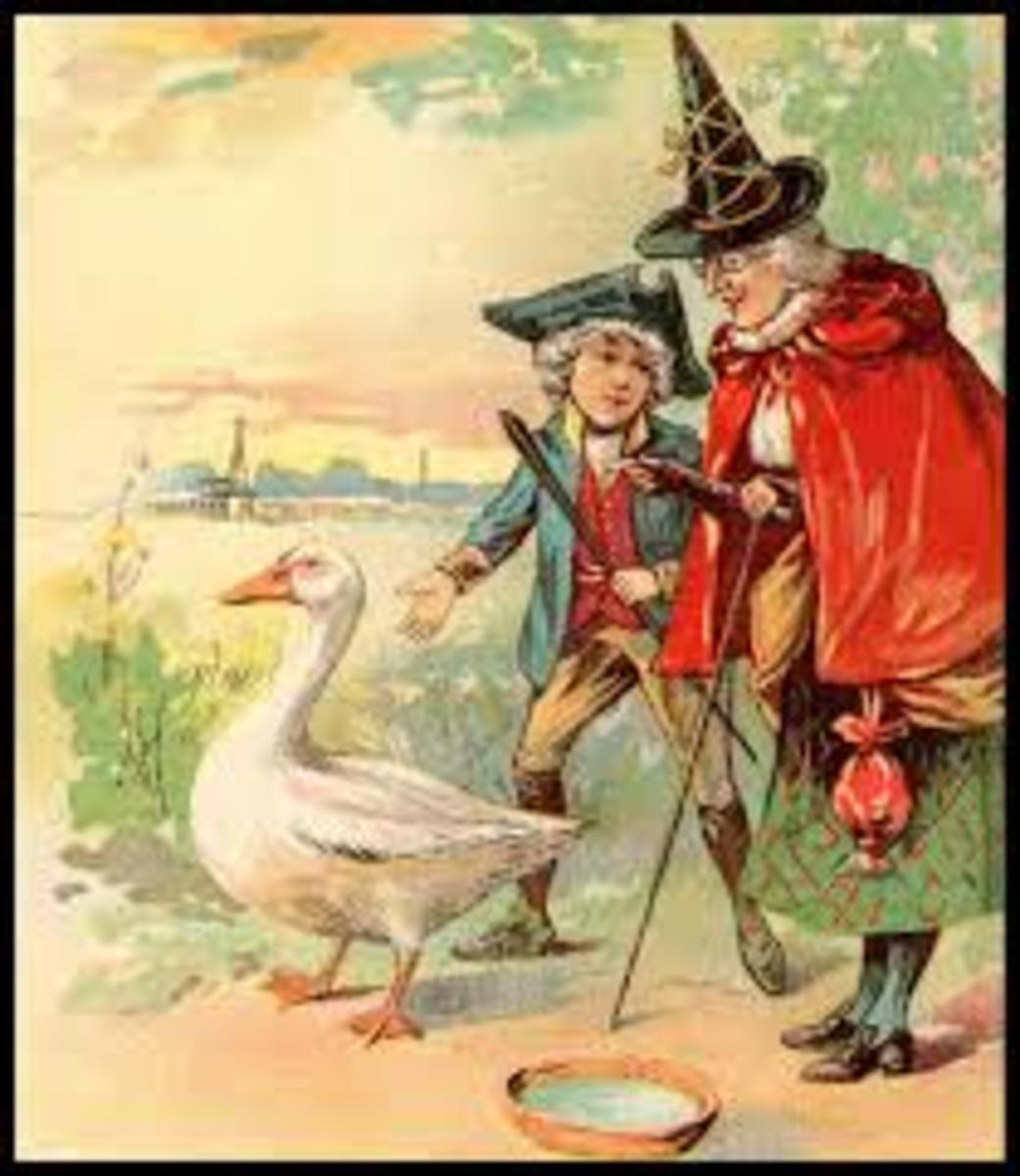 Illustration from Mother Goose.