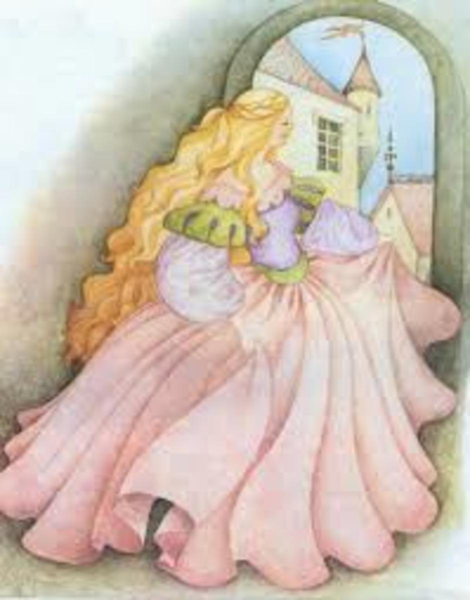 We dreamed of being a princess with our prince in his castle.