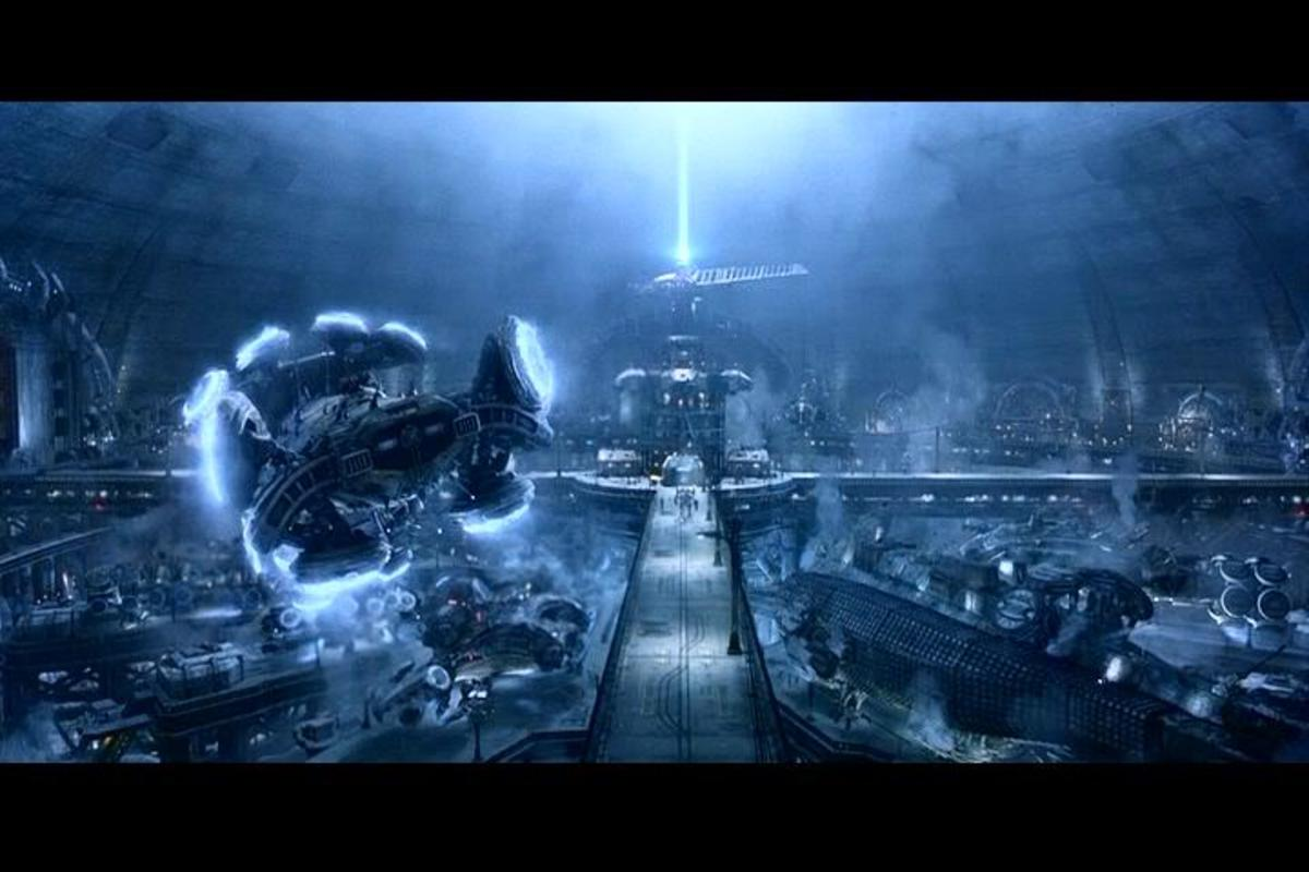 """The human underground city of Zion is alluded to as a place of hope in """"The Matrix""""."""