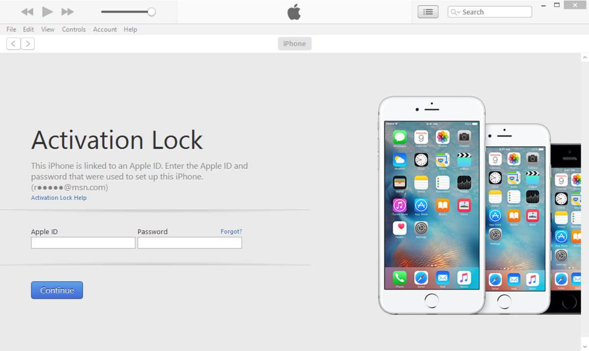 If enabled, Activation lock or iCloud lock will prompt for an Apple ID in a lost or stolen iPhone
