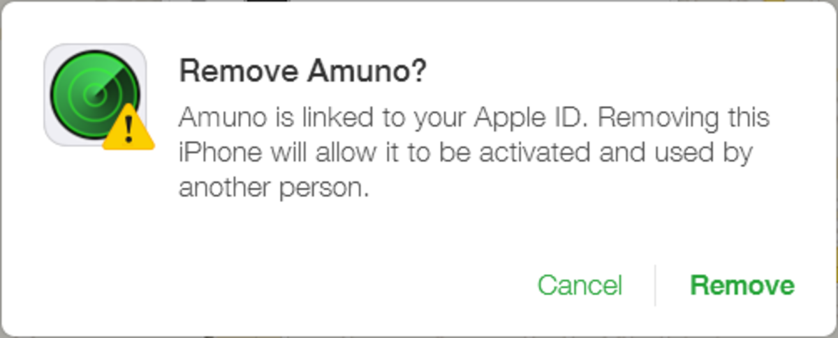 Clicking Remove will set the device free, and therefore ready for a new Apple ID