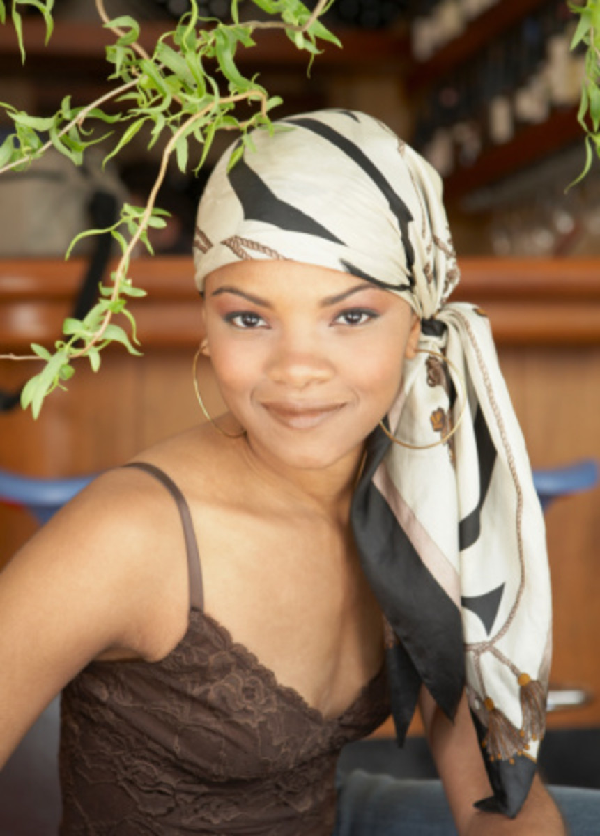 Natural Hair Protective Style Scarf It Up Hubpages