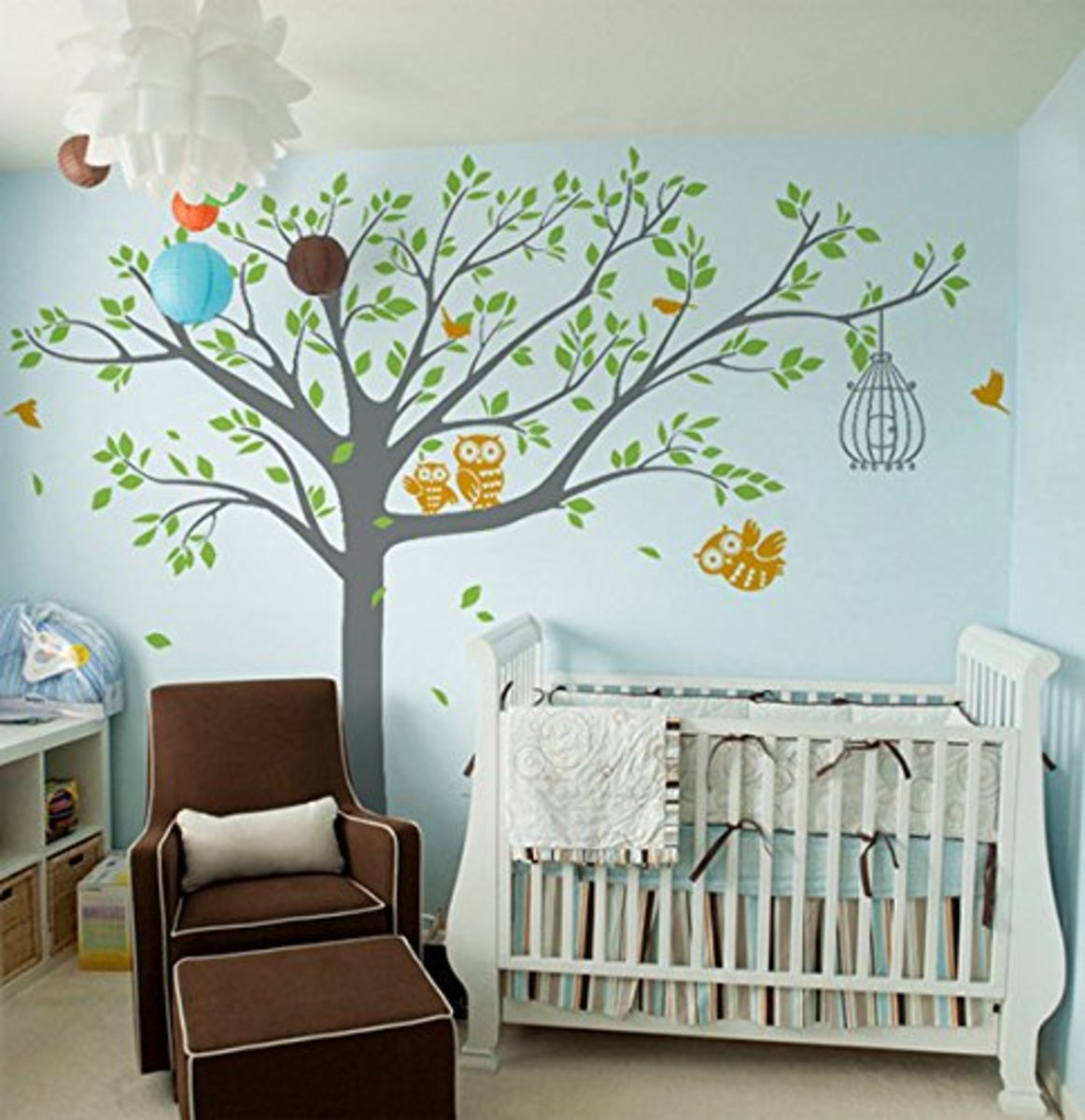 Removable Wall Decals Mural for Nursery Room