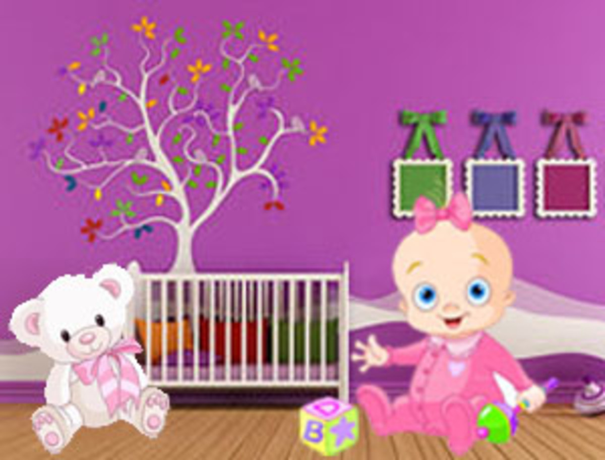 Cute Nursery Themes |Baby Nursery Decorating Ideas on Low Budget