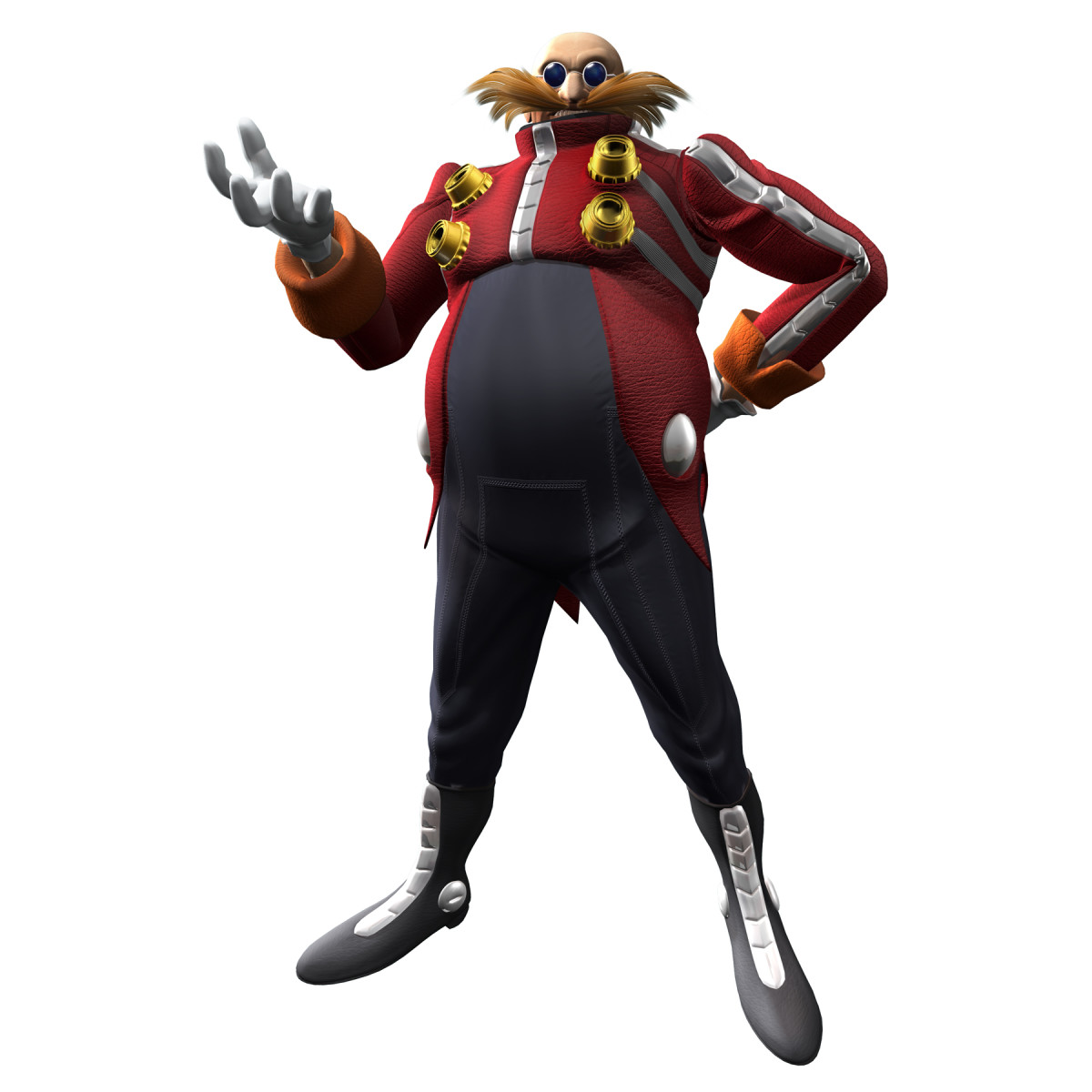 Dr Eggman as he appeared in Sonic the Hedgehog 2006