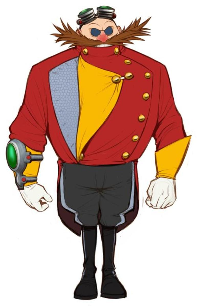 Doctor Eggman as he will look in Sonic Boom.