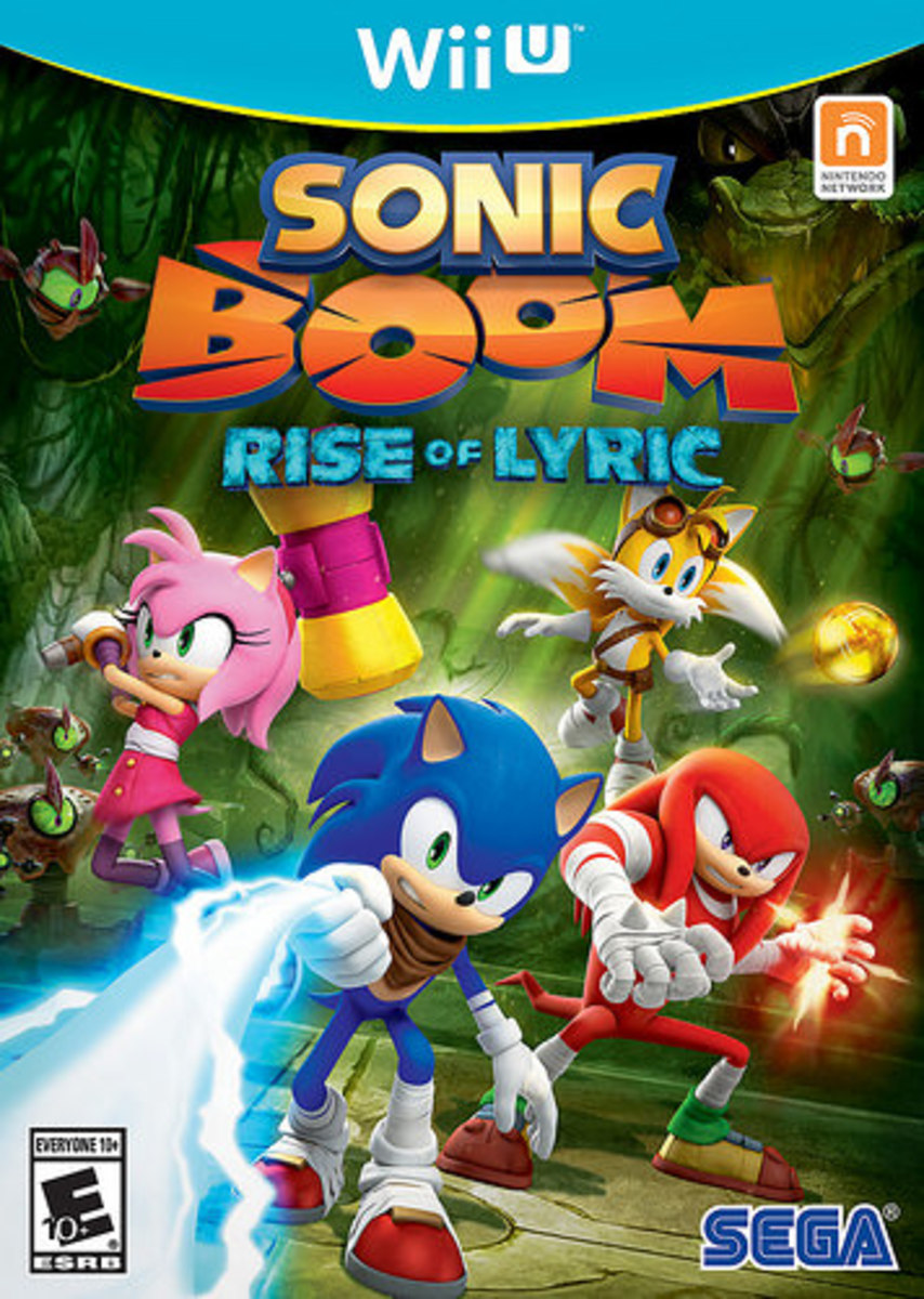My thoughts on Sonic Boom Designs