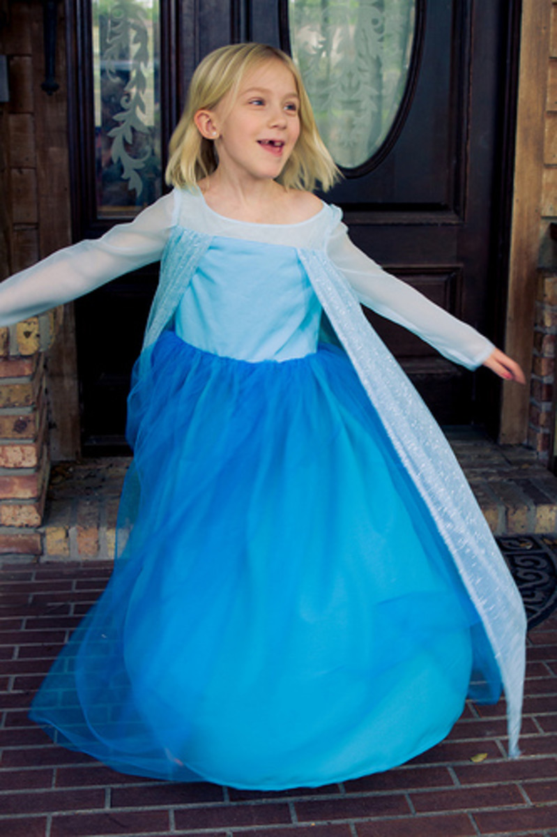 A handmade dress can make any little girl feel like a princess. Just watch her smile and twirl!