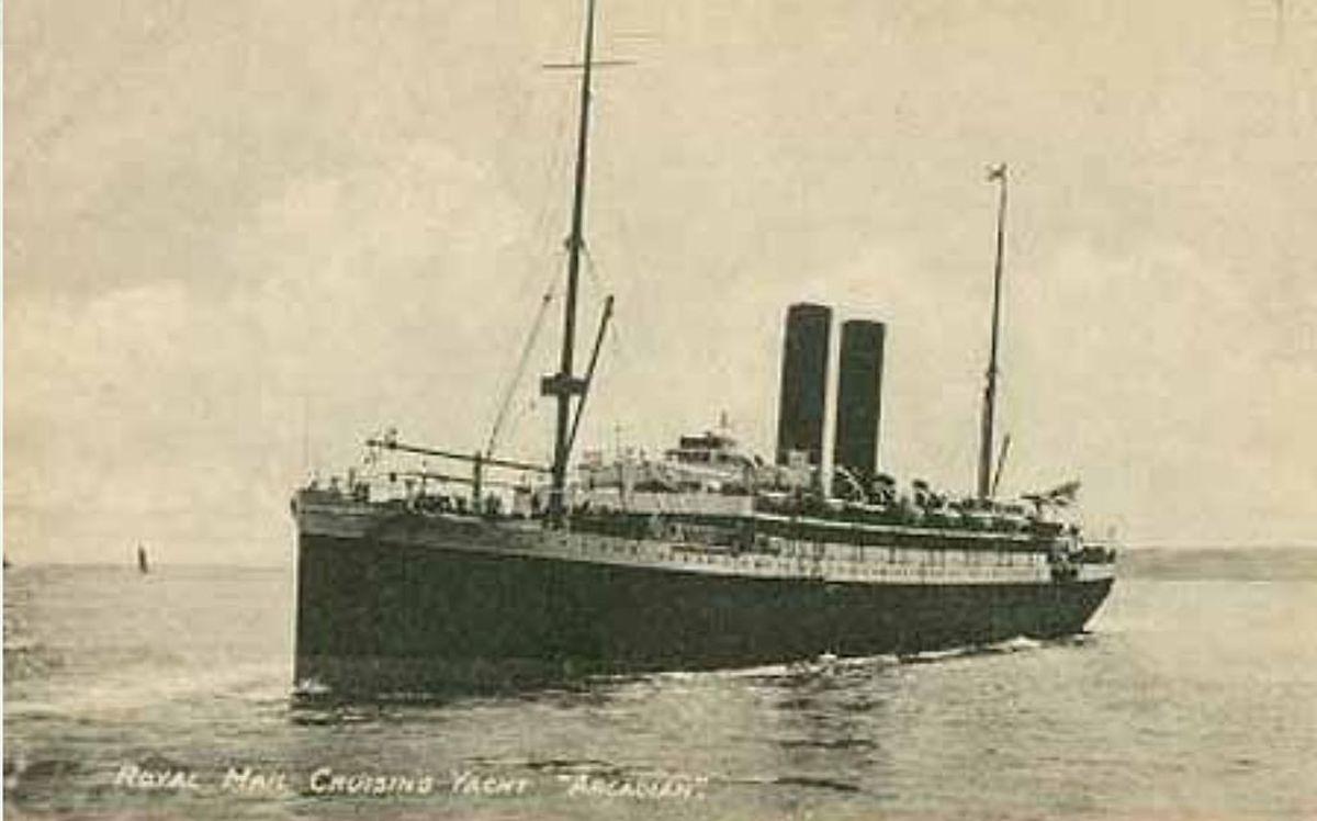 SS Arcadian - 1915