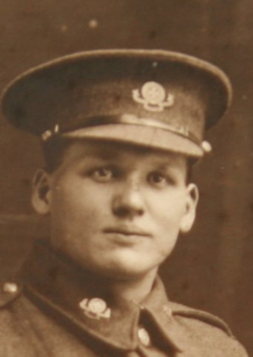 George Barker RAMC -