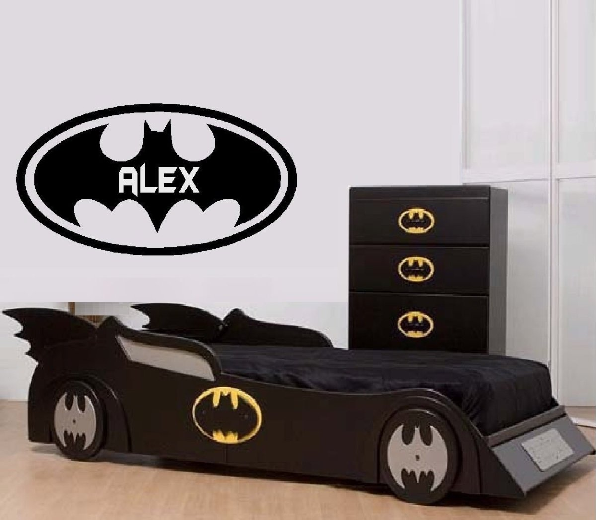 How to Decorate a Batman Themed Bedroom for Kids