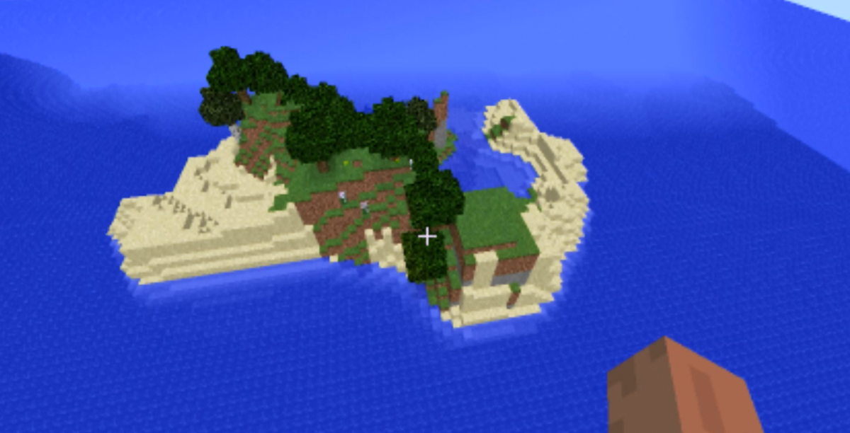 Minecraft survival island seed list 1.8 - 1.8.1 (videos)