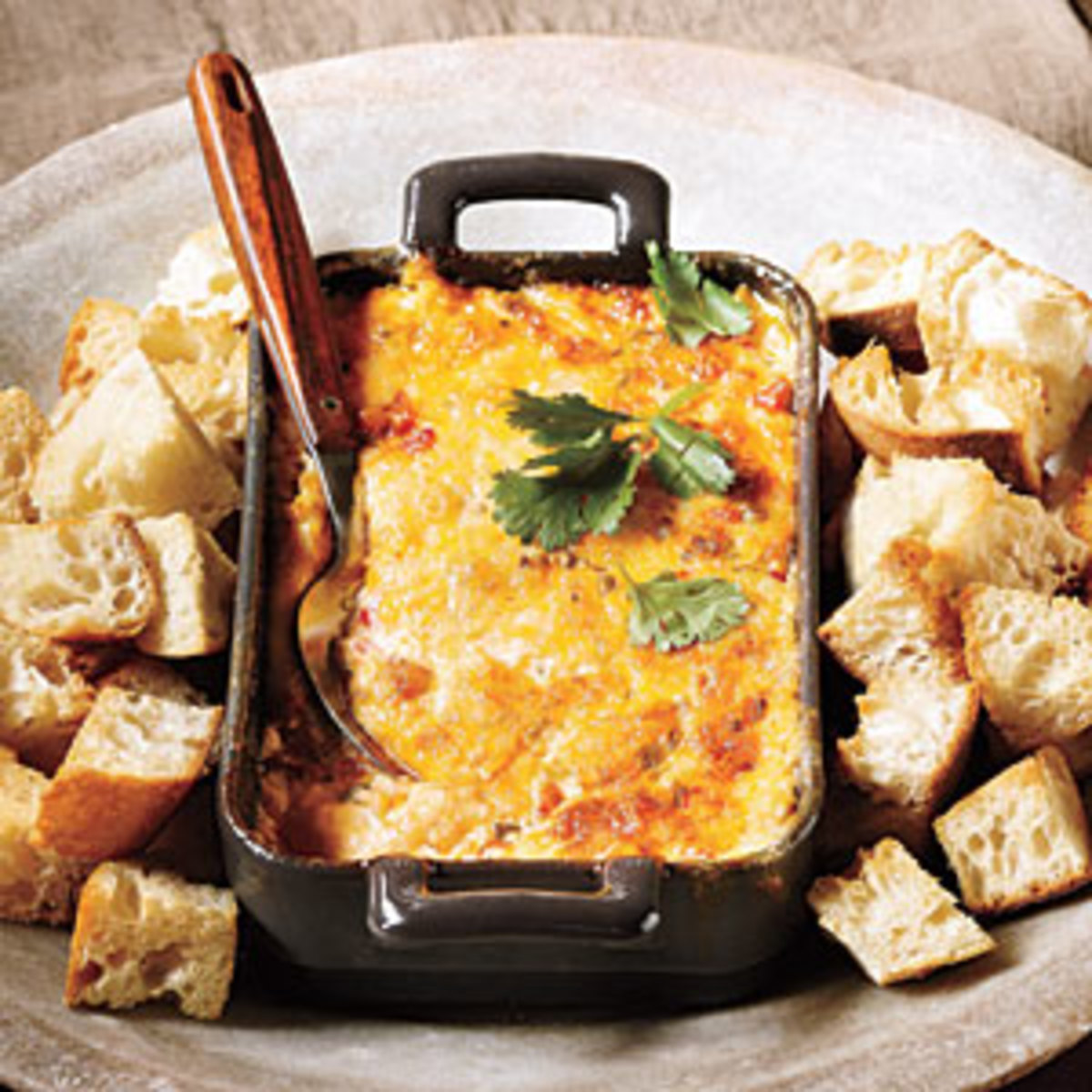 Baked Tex-Mex Pimiento Cheese Dip. Oh man this is so very delicious.