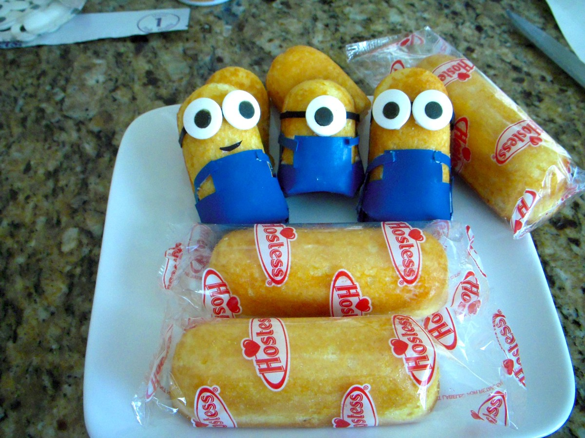 How To Make Minions Using Twinkies
