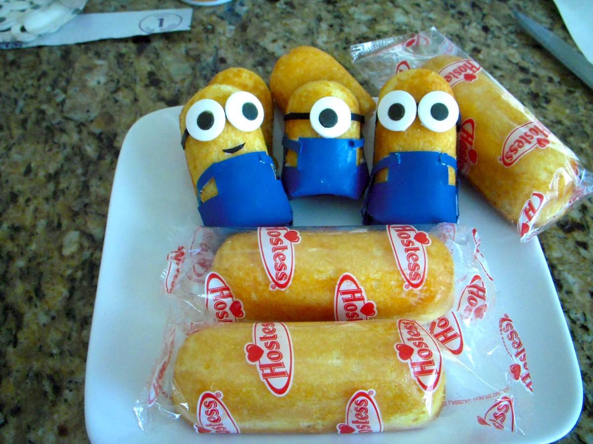 How To Make Minions Using Twinkies