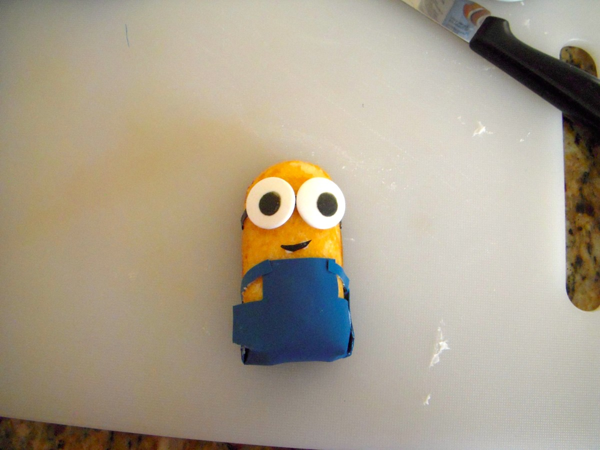 Here's a Minion with a smile.