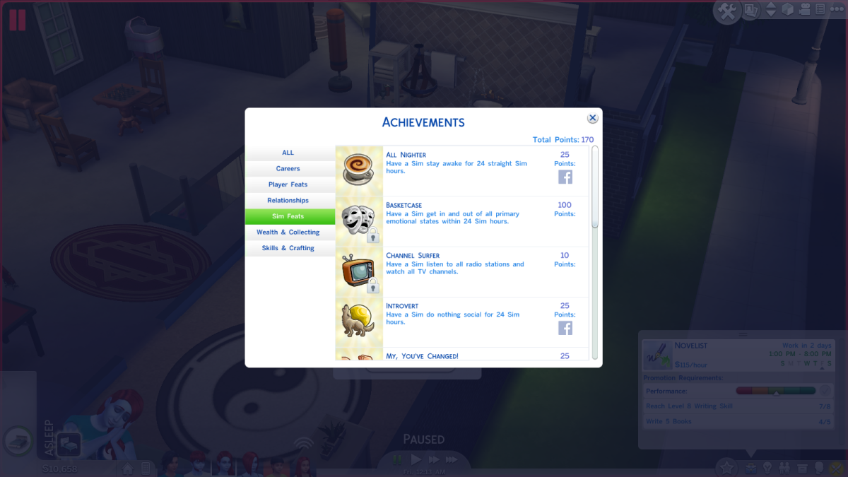 The Sims 4 Walkthrough: Achievements Guide