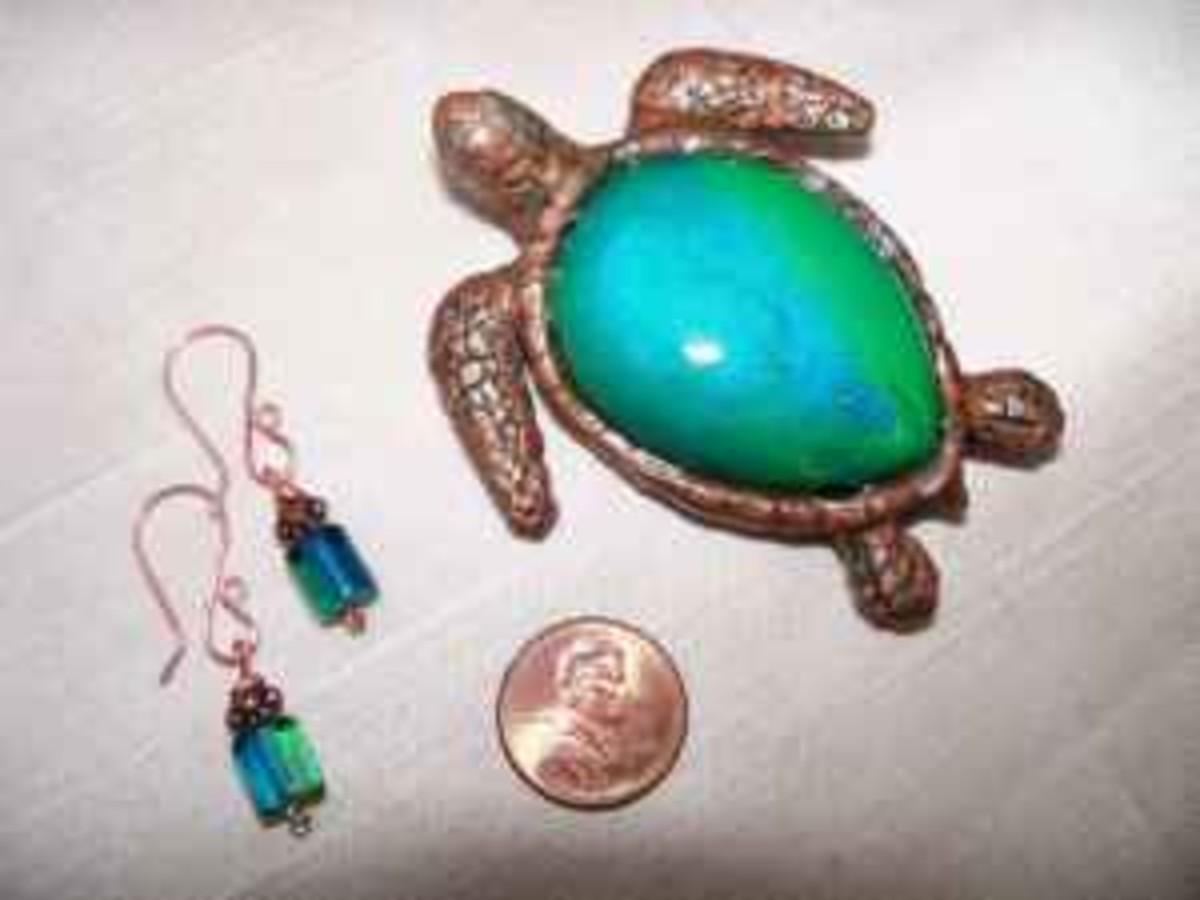 Adult Sea Turtle Jewelry