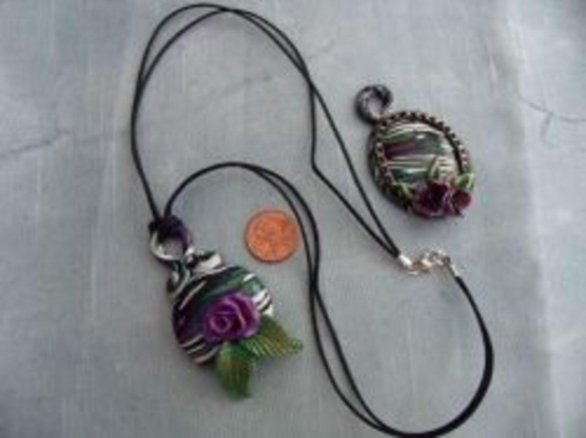 Polymer Clay Jewelry - Stroppel Cane Jewelry