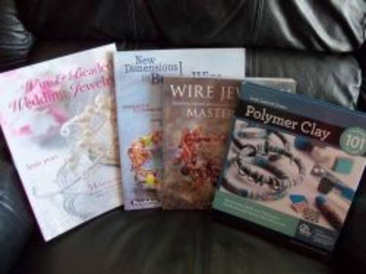 Polymer Clay Jewelry Books