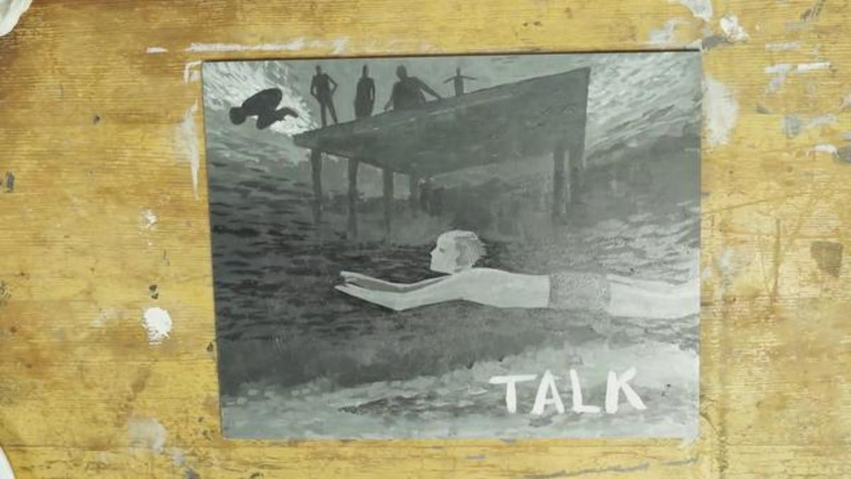 A single cover of Talk taken from Vevo