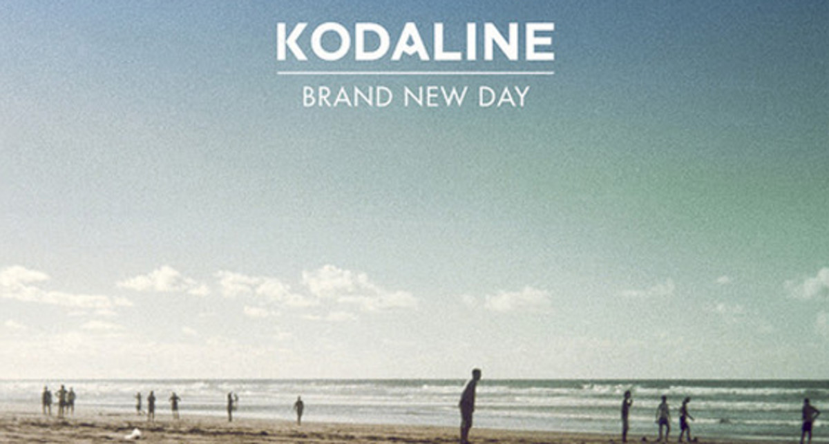 The official cover for Kodaline's Brand New Day