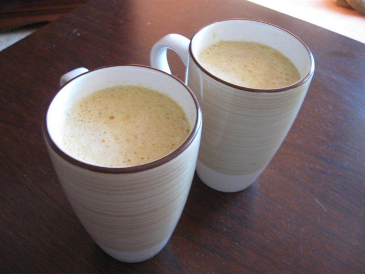 "The culprits ""aka"" pumpkin spice lattes."