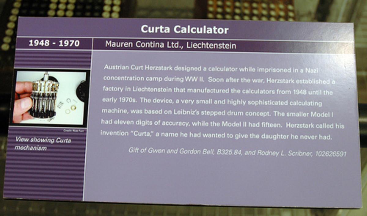 About Curta Calculators