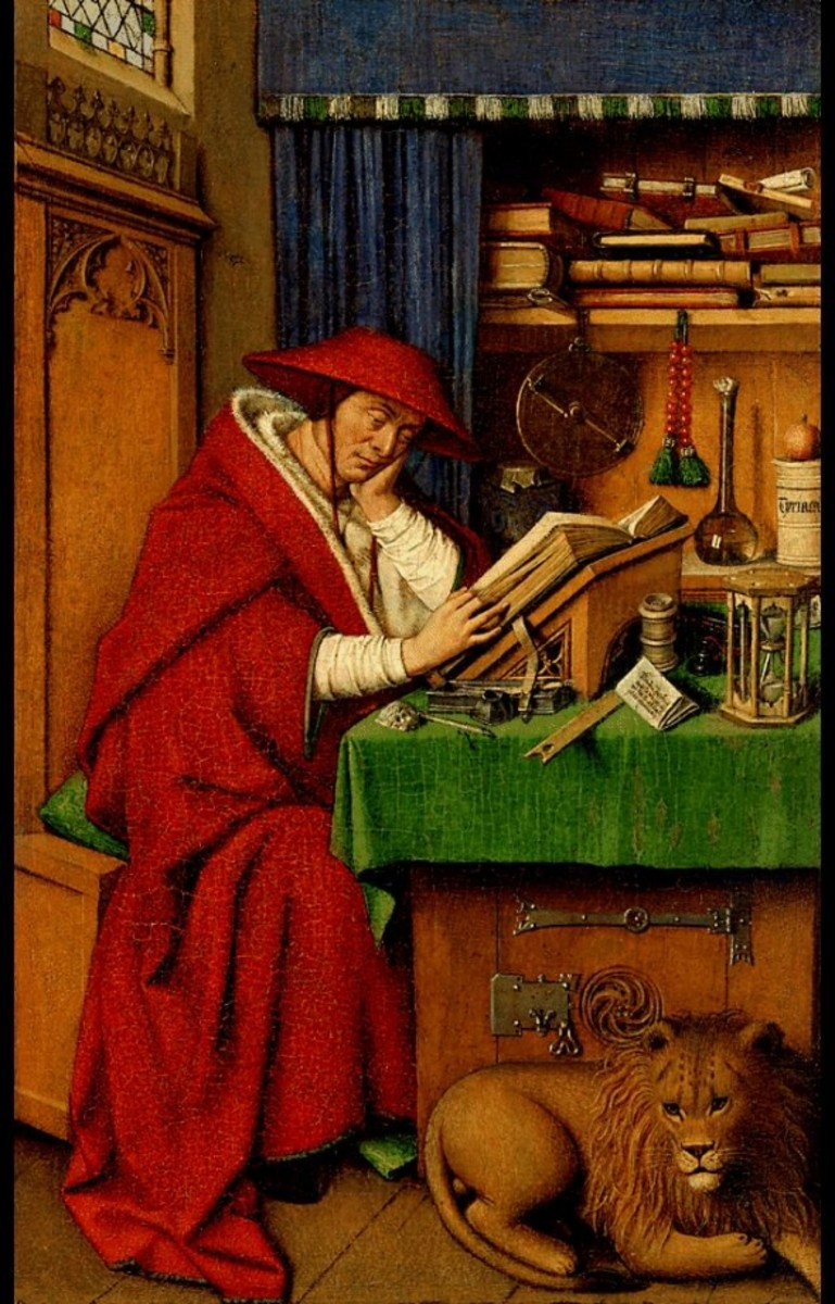 Saint Jerome in His Study (1442)