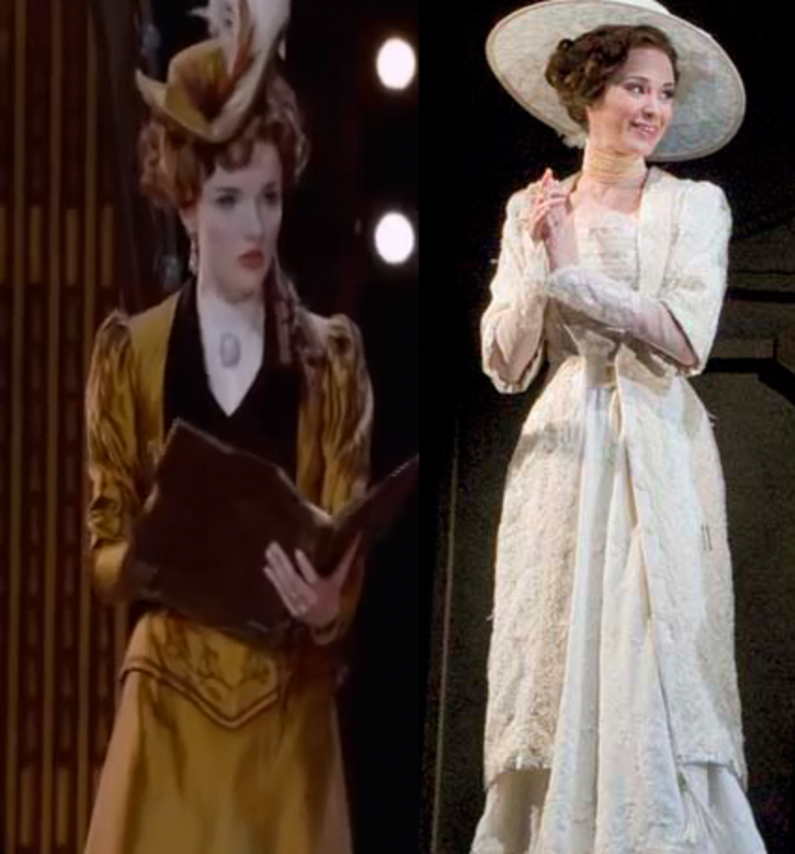Australian costume on left and on the Original on the right