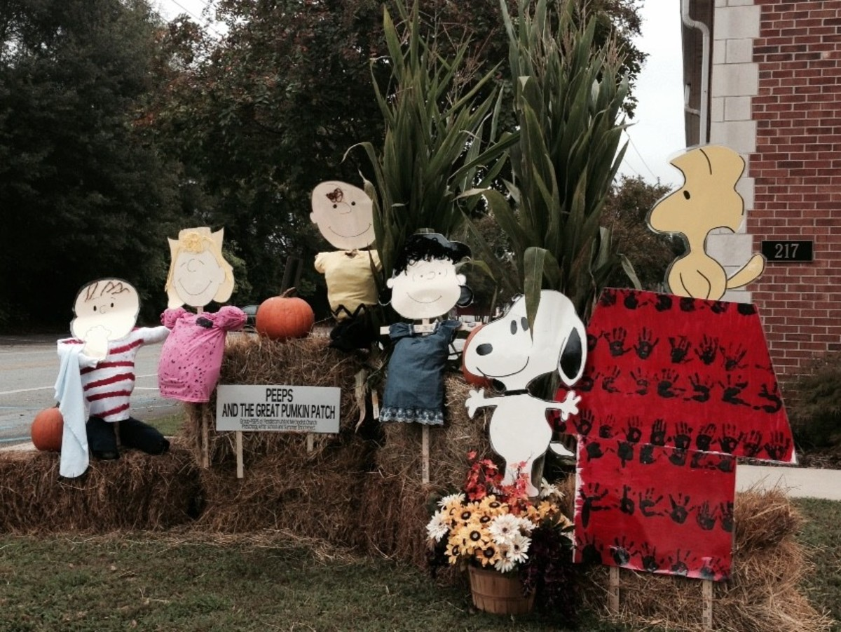 11. PEEPS and the Great Pumpkin Patch
