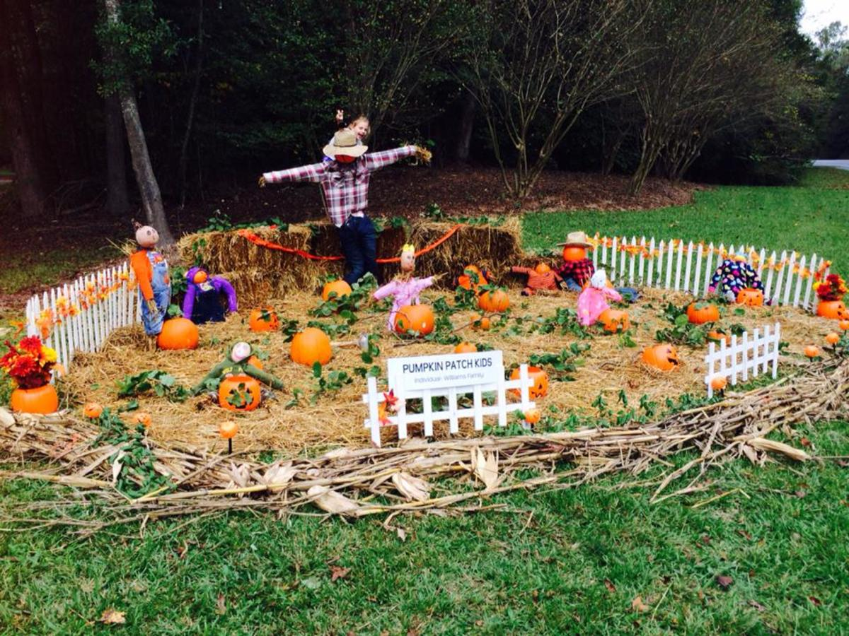 6.  Pumpkin Patch Kids