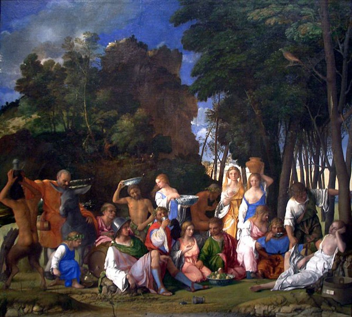 Giovanni Bellini, The Feast of the Gods (1514), Washington National Gallery