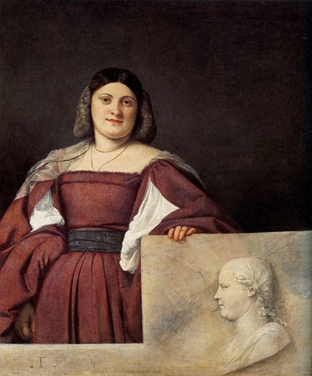 Titian, The Schiavona (1510), London National Gallery