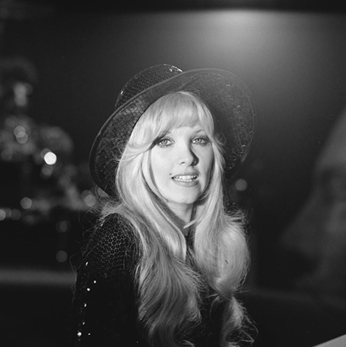 Lynsey de Paul photographed in 1974