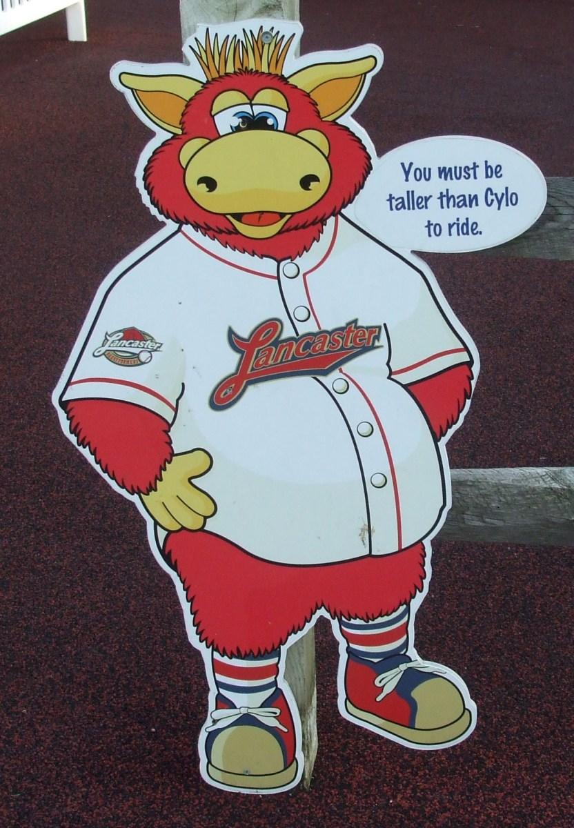 Cylo Lancaster Barnstormers Mascot Sticker