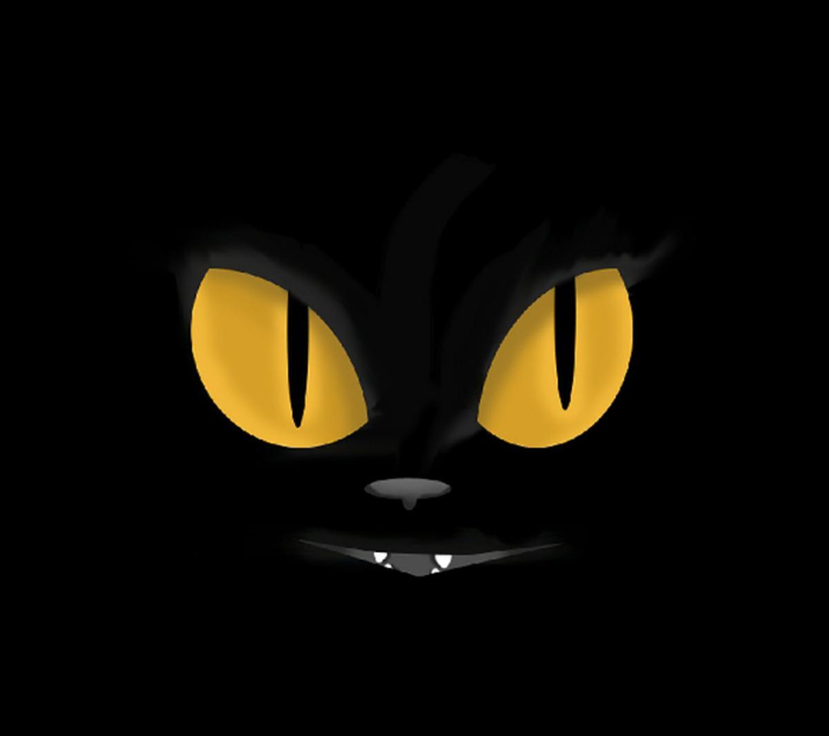 Evil Cat Face