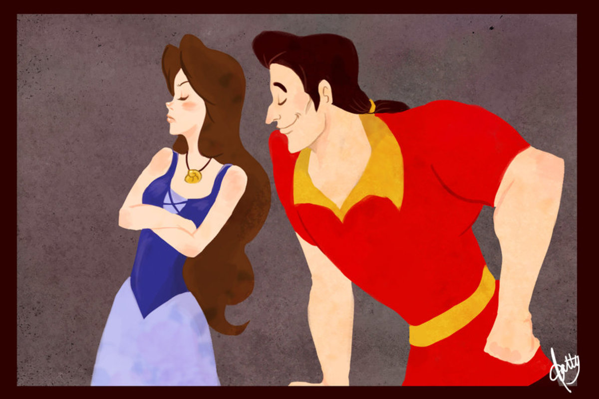 Tsundere Belle: It's not like I am happy that you came to give me Company. Gaston: Hai, Hai. I know.