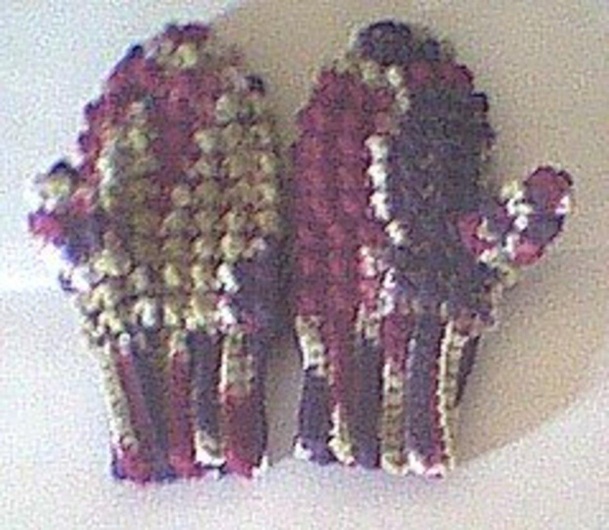 Crochet Child's Mitts