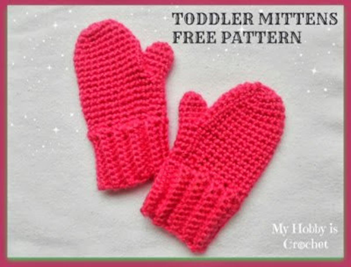 Crochet Toddler Mittens