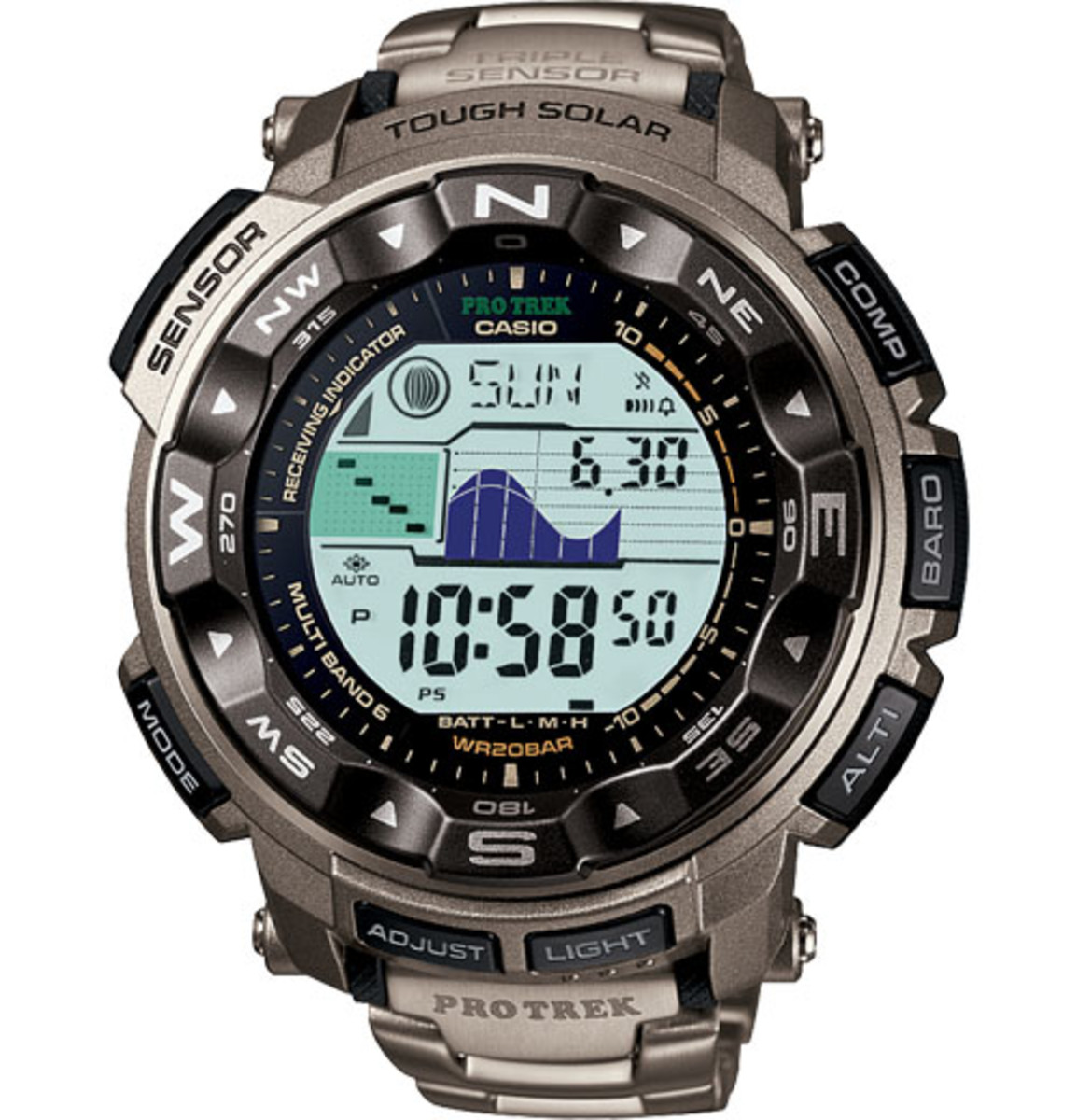 What's Wrong with the Casio PRW2500T-7CR Solar Digital Casual Watch?