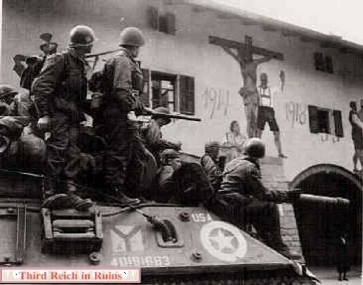 The 3rd Infantry Division of the U.S. Army reaches downtown Berchtesgaden and liberates it.