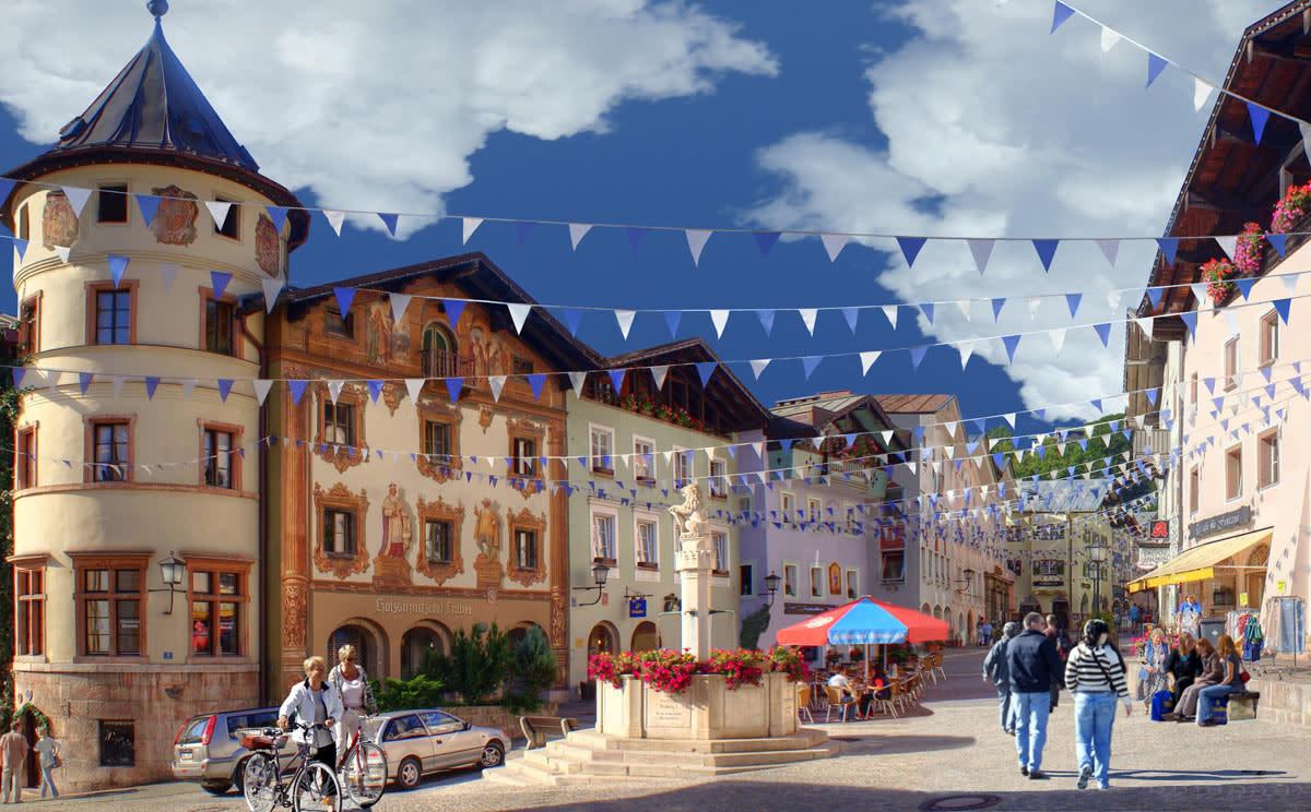 Historical town center of Berchtesgaden