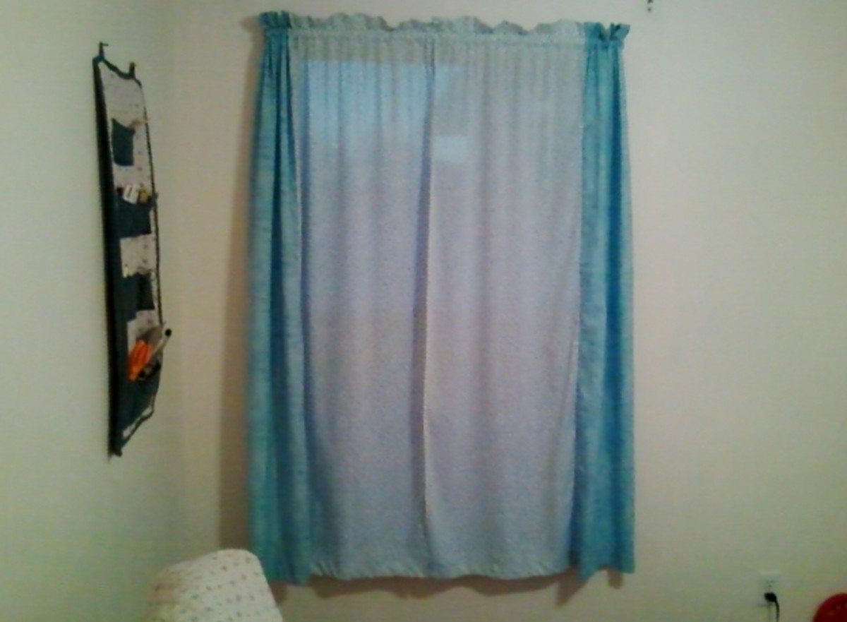 Sew a French Seam Curtain