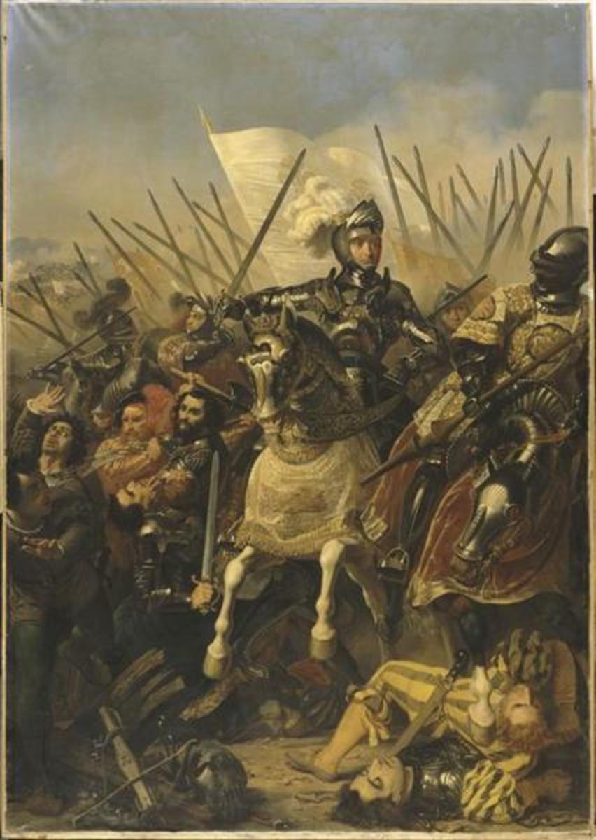 The battle of Agnadello, 1837, Versailles
