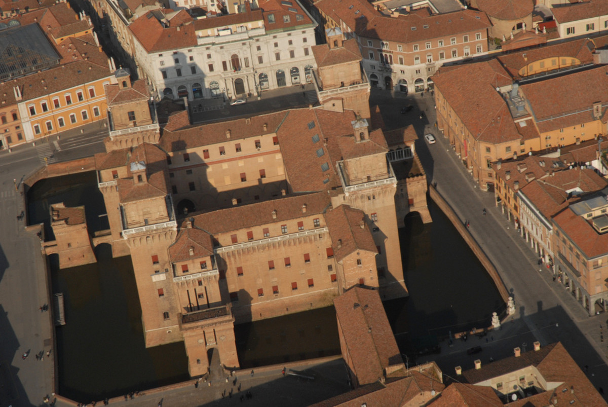 The Castle of the Este in Ferrara