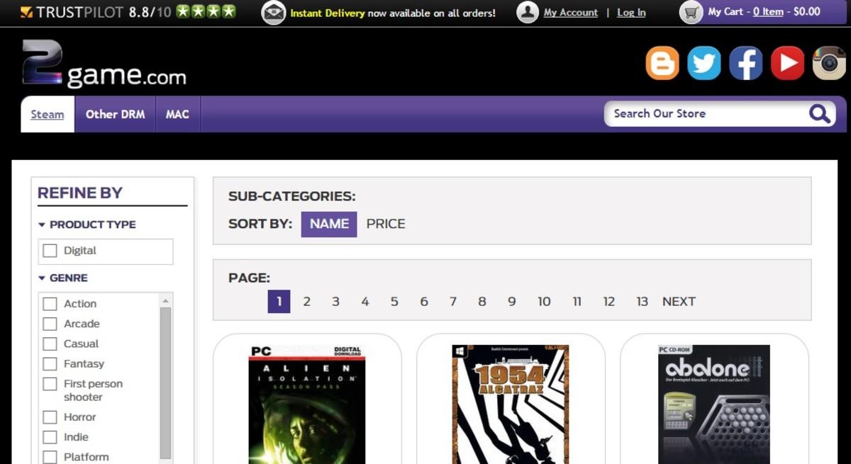 2game-website